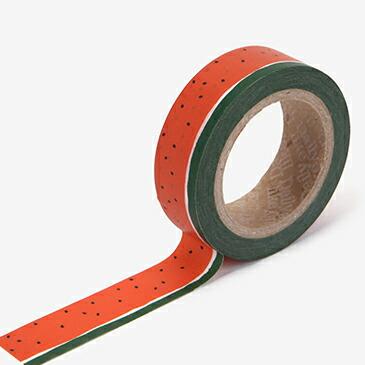 マスキングテープ 101 watermelon