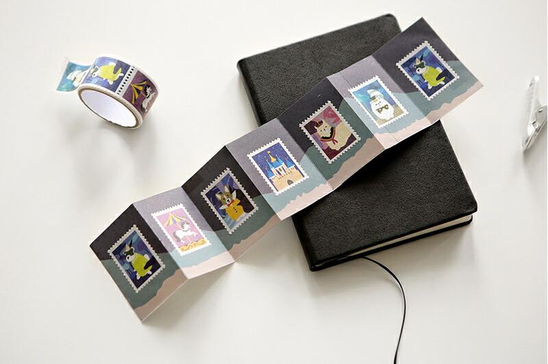 他にはない珍しい柄のかわいいマスキングテープをたくさん取り揃えています。
