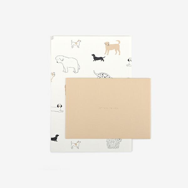 レターセット 11 Daily dog