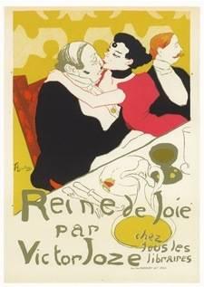 ロートレックの版画はいつの時代もオシャレで、プレゼントにピッタリ!