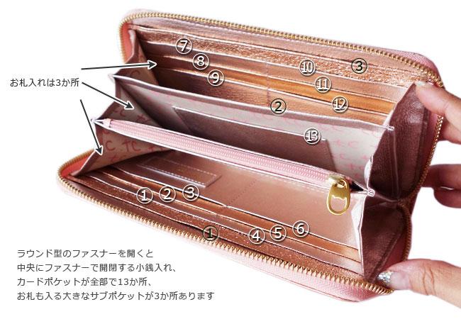 tsumori chisato CARRY/新マルチドット 長財布