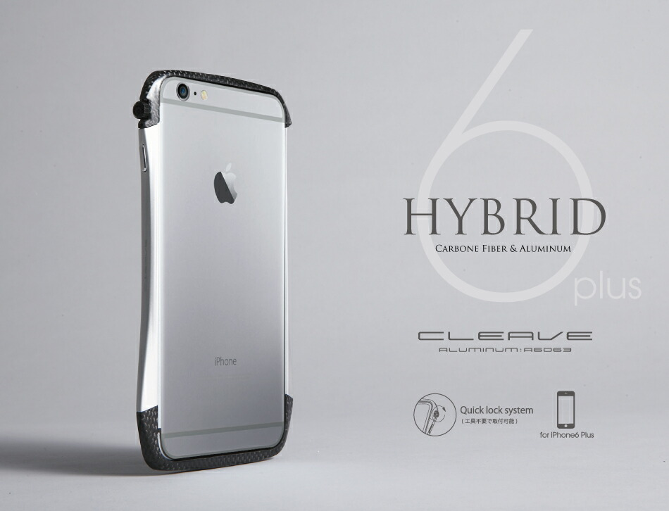 info for e42c6 db394 【アウトレット】CLEAVE Hybrid Bumper for iPhone 6 Plus|Deff楽天市場店