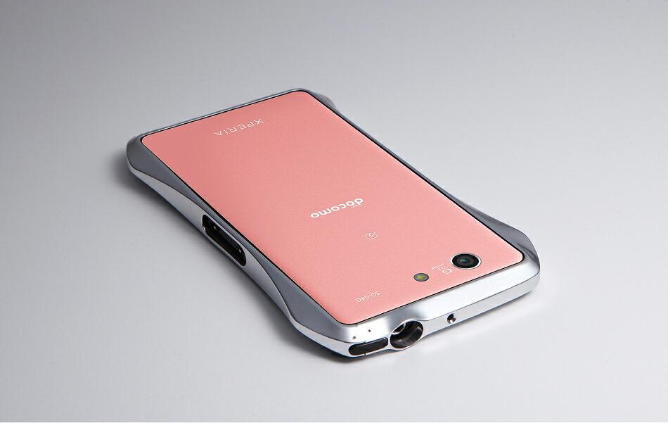 Xperia™ A4、Xperia™ Z3 Compact用アルミバンパー