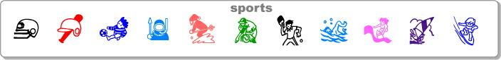 スポーツ イラストシリーズ