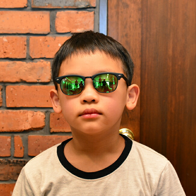 7a684167ff dekorinmegane  Ray Ban sunglasses CLUBMASTER JUNIOR (matte black ...