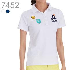 スマイル刺繍ポロシャツ