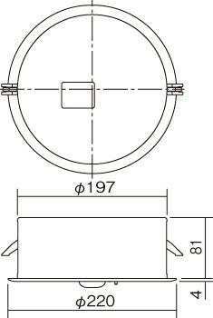 施設用寸法図