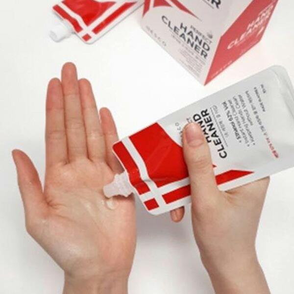 パーフェクトハンドクリーナー 1ボックス 30ml(20個入り)エタノール62%配合 携帯用 水なし 除菌 ハンドジェル ウイルス対策 小さな鞄にもすっぽり入る ポーチ型 アルコール消毒