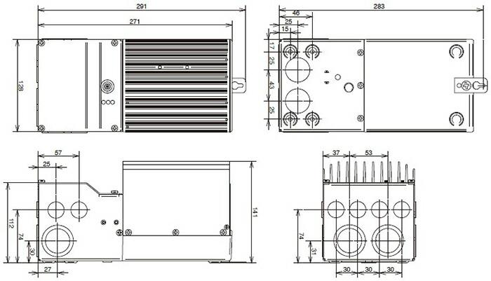 電菱 TS-45 太陽電池充放電コントローラ (PWM充電方式) <TriStarシリーズ>