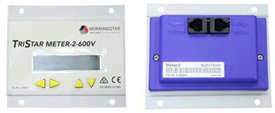 電菱 TS-M-2-600V デジタルリモートメーター(TriStar-MPPT 600V用) <太陽電池充放電コントローラオプション>