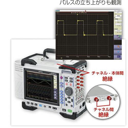日置電機 HIOKI アナログ16ch+ロジック16ch 最速20Mサンプリング/s  MR8847A/