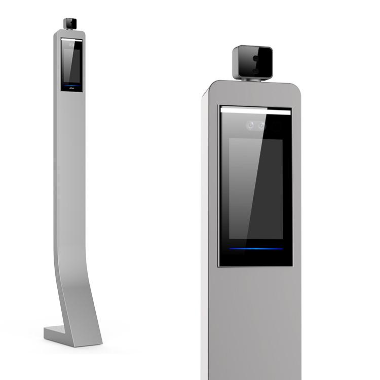 スタンド付き 顔認証セキュリティ&体表温度測定カメラシステム