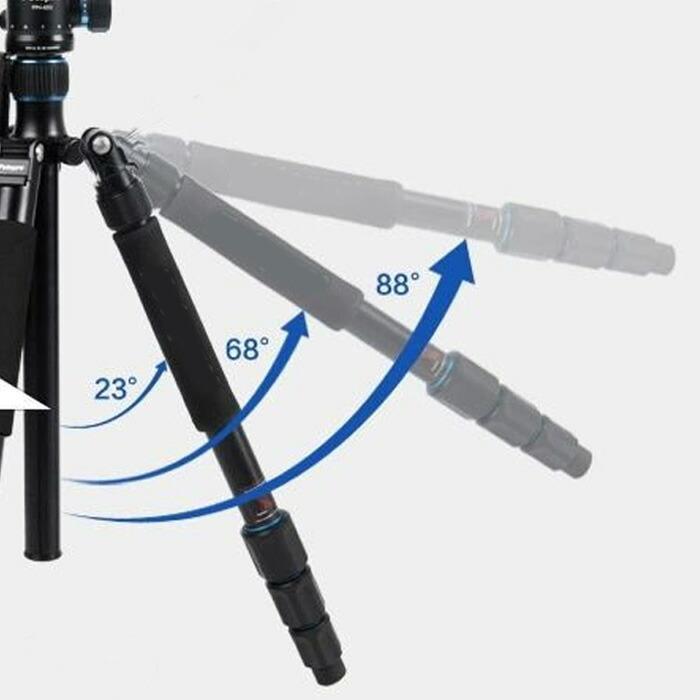 耐荷重12kg 自由雲台付き三脚 サーマルカメラ