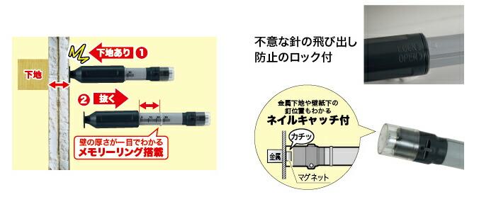 MCH-0814S ジェフコム(デンサン) ミニランプチェンジャー 指先が入らない狭所の電球交換に!