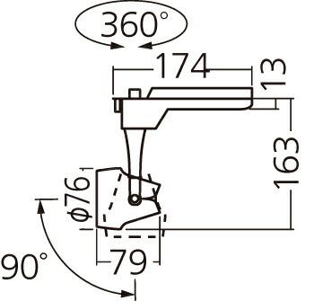 NNN01321W LE1 パナソニック LEDスポットライト(電球色)<ビーム角18°> 100形 配線ダクト取付型