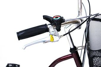 スイングチャーリー911 スイング機能で小回りらくらく!ノーパンク三輪自転車 20インチモデル MG-TRW20NE