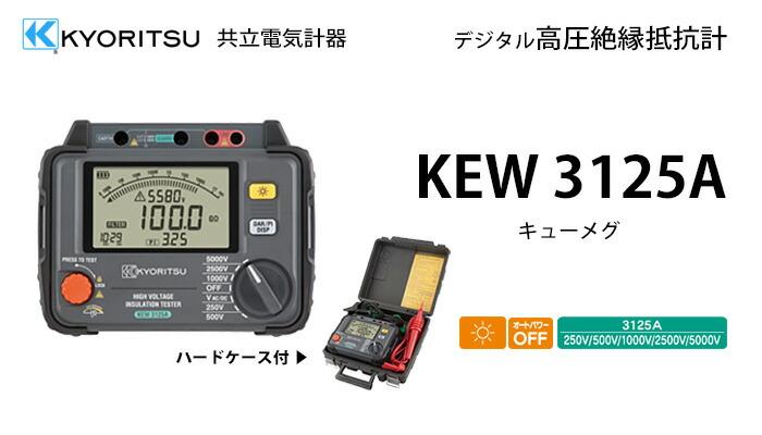 KEW3125A 共立電気計器