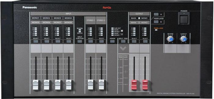 パナソニック デジタルミキサーWR-DX100用ミキサー操作ユニット WR-PU100