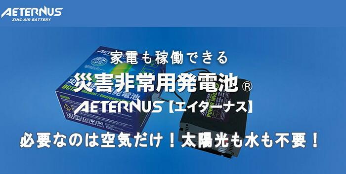 災害非常用発電地(R)AETERNUS(エイターナス)