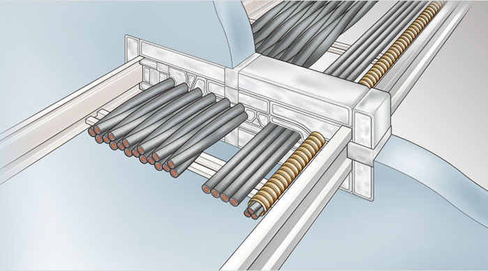 JAPPY ファイヤープロシリーズ 耐火ピロー壁工法 適合開口穴(mm)200×200 IKP-2020