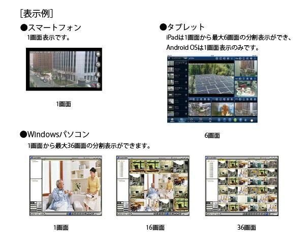 SolidCamera Viewla 暗闇にも強い24時間監視対応!メガピクセルIPネットワークカメラ IPC-06HD