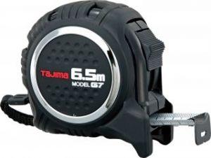 TAJIMA コンベックス G7ロック19(メートル目盛) 黒/黒 G7L1950