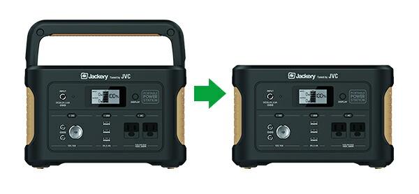 JVCケンウッド アウトドア・防災・日常使いに便利なポータブル電源 BN-RBシリーズ 626Wh BN-RB6-C