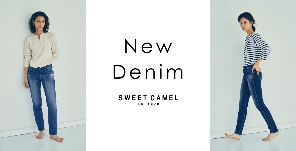 Sweet Camel New Denim 予約受付スタート