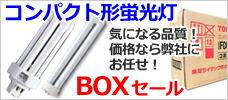 コンパクト型蛍光灯(BOX)
