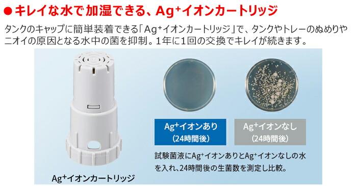 Ag+イオンカートリッジ