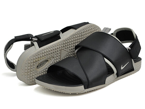 brand new 47ceb 31830 Nike sandals air solar software zigzag men black / gray NIKE AIR SOLARSOFT  ZIGZAG 579,912-001
