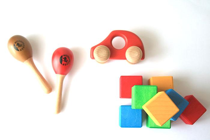 よく遊ばれるおもちゃ3種