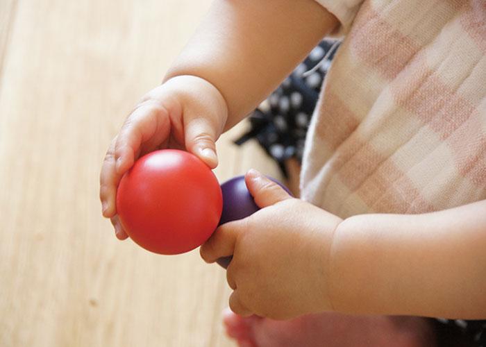 お椀童具館 和久洋三 デザイン カラーボール 国産 知育玩具 安心安全