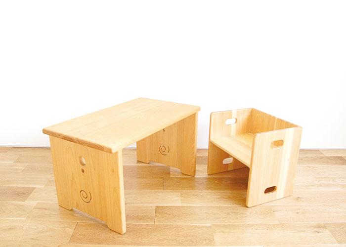 なかよしライブラリー テーブル 自在椅子 子ども家具
