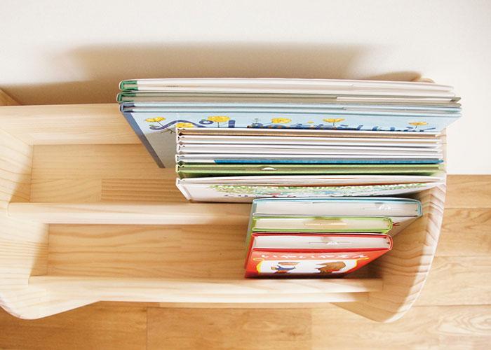 木遊舎 絵本棚 M  パイン