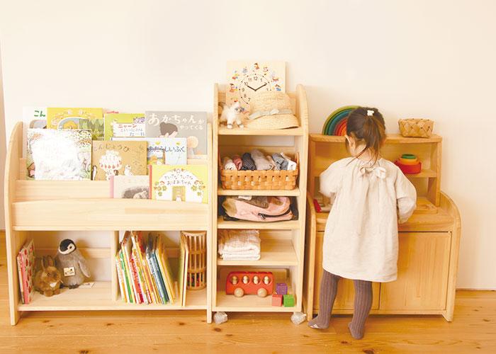 木遊舎 絵本棚 M  800