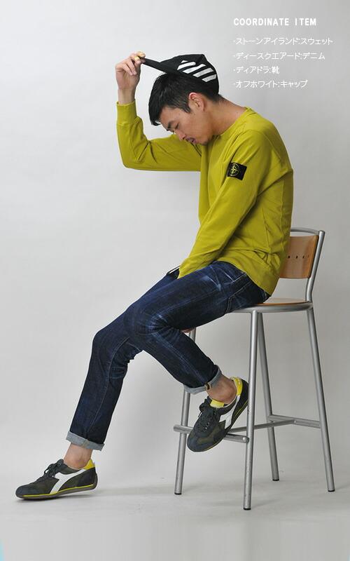 61452 ストレッチコットンスウェットシャツ