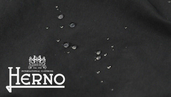 ヘルノ撥水ナイロンスプリングコート