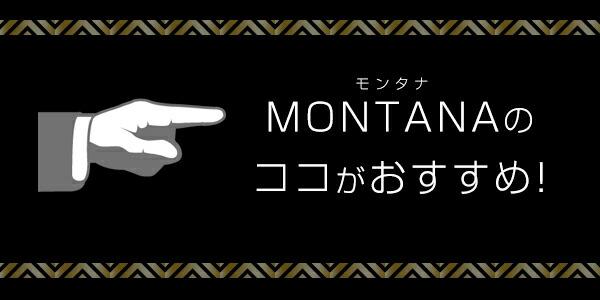 モンタナのココがおすすめ!