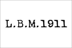 エルビーエム L.B.M.1911 ブランドロゴ