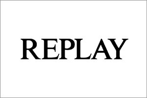 リプレイ REPLAY ブランドロゴ