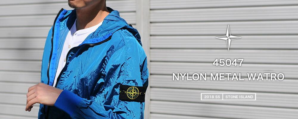 45047 NYLON METAL WATRO ナイロンパーカー