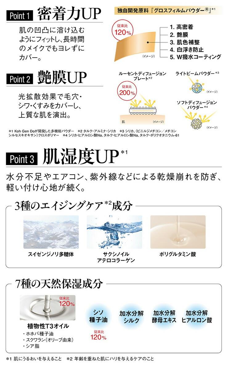 グロス フィルム 道 ファンデーション 江原