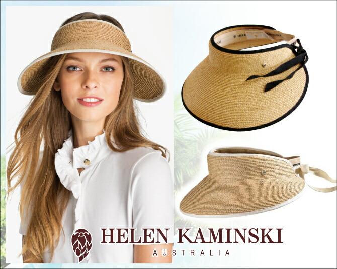 DEROQUE  Helen Kaminski HELEN KAMINSKI MITA visor 45 Hat 12 10 8 ... 85902d77a260