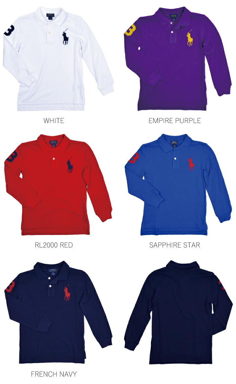 83b8e7e335a0b Ralph Lauren kids clothes kids junior big pony long sleeve polo shirt POLO  RALPH LAUREN BOYS BIG PONY 322614046