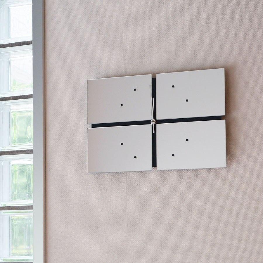 掛け時計 クロック アナログ ミラー モダン シンプル クロック