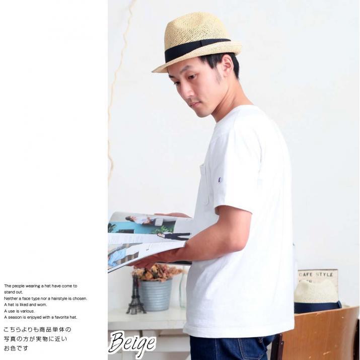 帽子/シンプル麦わら帽子メッシュ中折れ帽子中折れハット/シンプルなデザイン