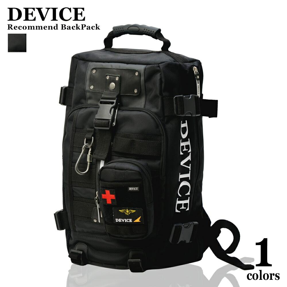 31339bf90f97 リュック バックパック リュックサック 大容量 メンズ ブランド DEVICE