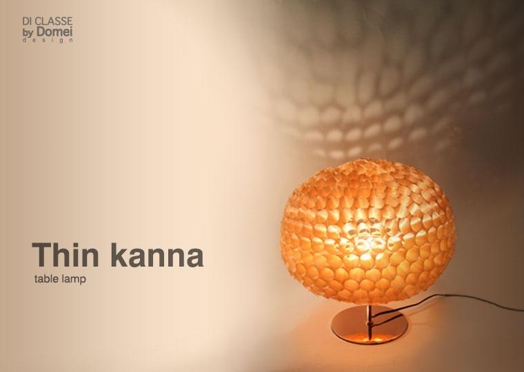 UONUMA PROJECT Thin-kanna table lamp