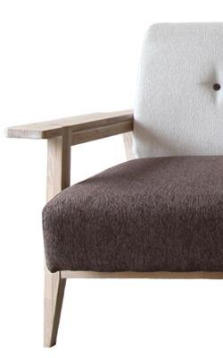 Whisky oak sofa earth brown